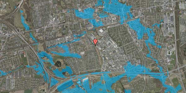 Oversvømmelsesrisiko fra vandløb på Hyrdeengen 9, 2625 Vallensbæk