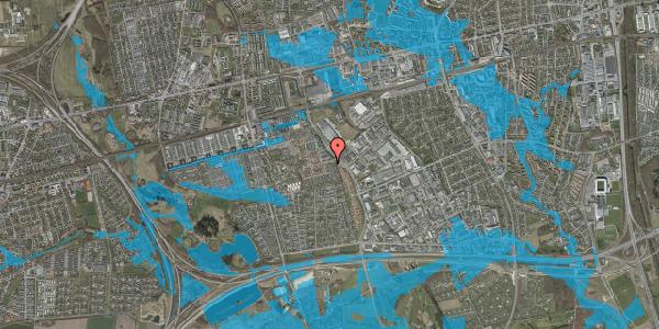 Oversvømmelsesrisiko fra vandløb på Hyrdeengen 15, 2625 Vallensbæk