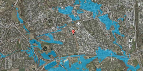 Oversvømmelsesrisiko fra vandløb på Hyrdeengen 17, 2625 Vallensbæk