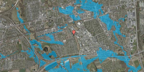 Oversvømmelsesrisiko fra vandløb på Hyrdeengen 23, 2625 Vallensbæk
