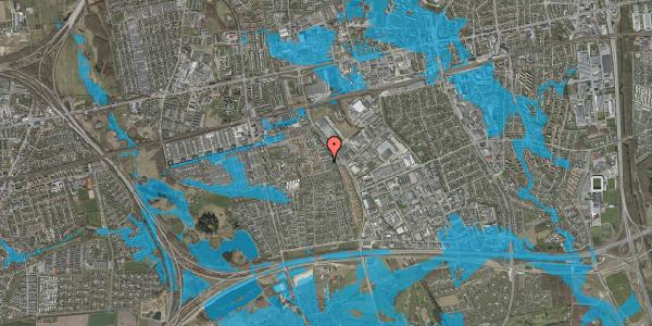 Oversvømmelsesrisiko fra vandløb på Hyrdeengen 27, 2625 Vallensbæk
