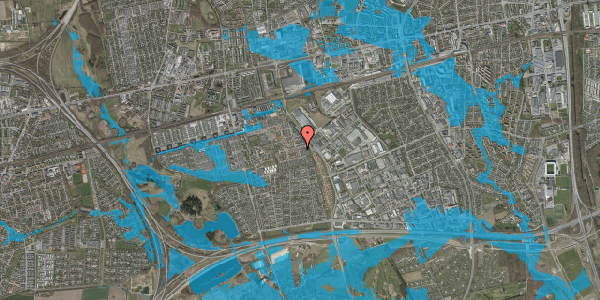 Oversvømmelsesrisiko fra vandløb på Hyrdeengen 31, 2625 Vallensbæk
