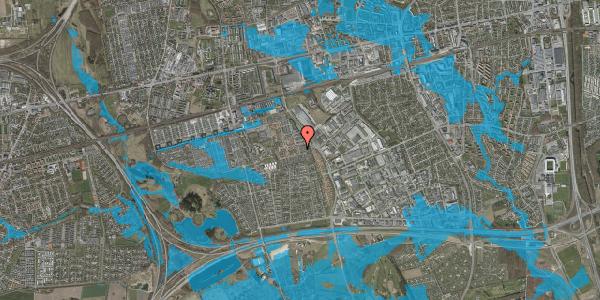 Oversvømmelsesrisiko fra vandløb på Hyrdeengen 35, 2625 Vallensbæk