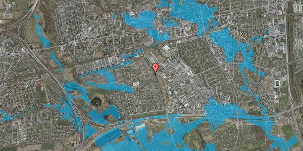 Oversvømmelsesrisiko fra vandløb på Hyrdeengen 37, 2625 Vallensbæk