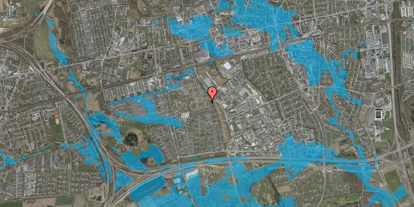 Oversvømmelsesrisiko fra vandløb på Hyrdeengen 39, 2625 Vallensbæk