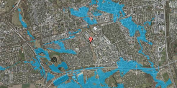 Oversvømmelsesrisiko fra vandløb på Hyrdeengen 45, 2625 Vallensbæk