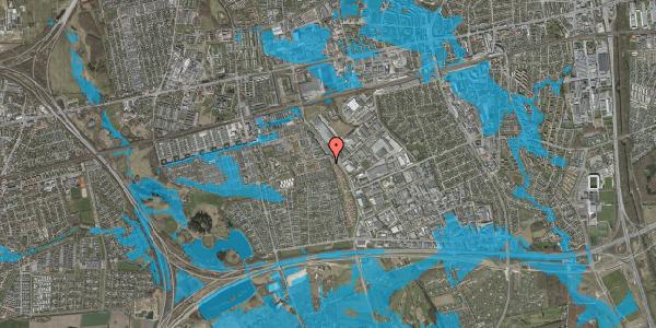 Oversvømmelsesrisiko fra vandløb på Hyrdeengen 47, 2625 Vallensbæk