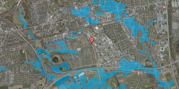 Oversvømmelsesrisiko fra vandløb på Hyrdeengen 59, 2625 Vallensbæk