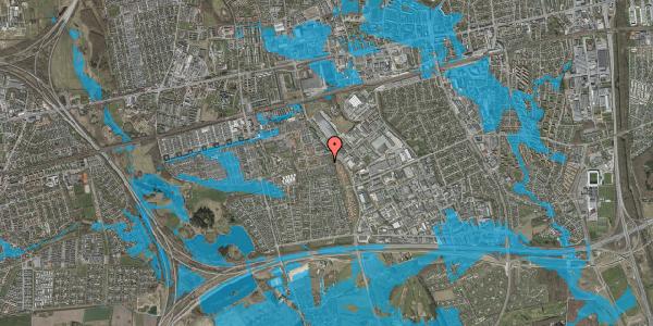 Oversvømmelsesrisiko fra vandløb på Hyrdeengen 65, 2625 Vallensbæk