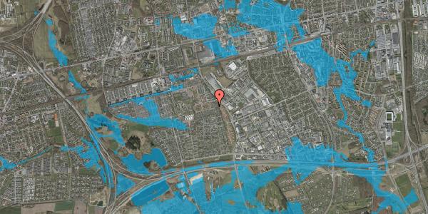 Oversvømmelsesrisiko fra vandløb på Hyrdeengen 67, 2625 Vallensbæk