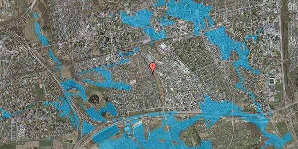 Oversvømmelsesrisiko fra vandløb på Hyrdeengen 77, 2625 Vallensbæk