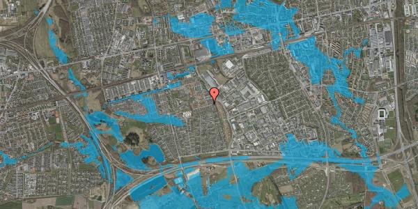 Oversvømmelsesrisiko fra vandløb på Hyrdeengen 79, 2625 Vallensbæk