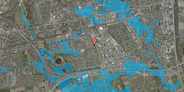 Oversvømmelsesrisiko fra vandløb på Hyrdeengen 83, 2625 Vallensbæk