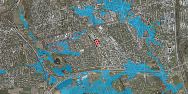 Oversvømmelsesrisiko fra vandløb på Hyrdeengen 99, 2625 Vallensbæk