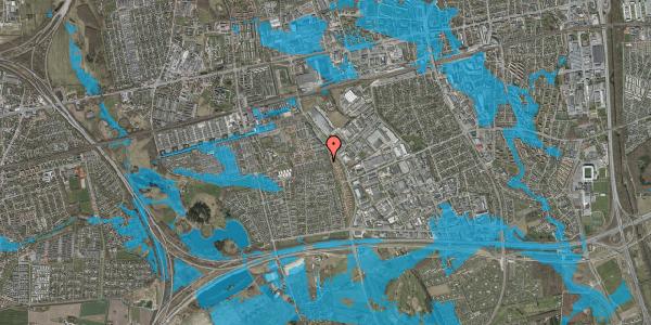 Oversvømmelsesrisiko fra vandløb på Hyrdeengen 101, 2625 Vallensbæk