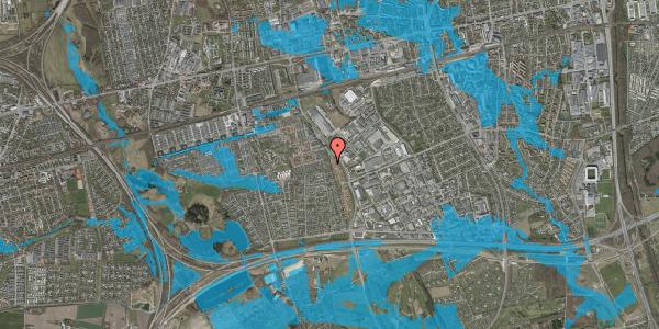 Oversvømmelsesrisiko fra vandløb på Hyrdeengen 103, 2625 Vallensbæk