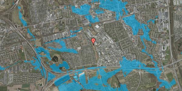 Oversvømmelsesrisiko fra vandløb på Hyrdeengen 105, 2625 Vallensbæk