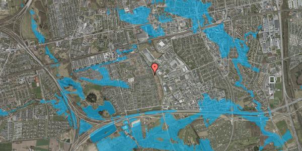 Oversvømmelsesrisiko fra vandløb på Hyrdeengen 107, 2625 Vallensbæk