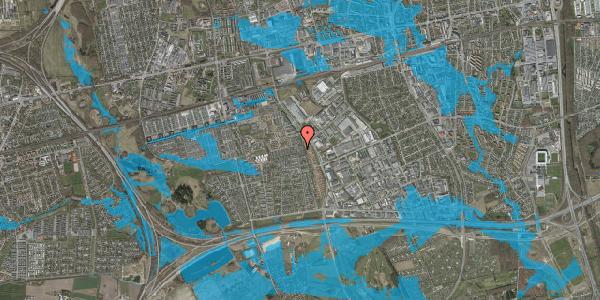 Oversvømmelsesrisiko fra vandløb på Hyrdeengen 109, 2625 Vallensbæk