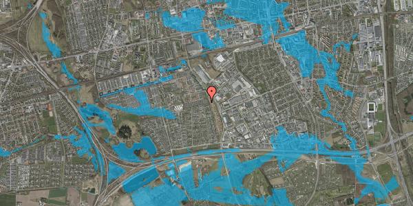 Oversvømmelsesrisiko fra vandløb på Hyrdeengen 115, 2625 Vallensbæk
