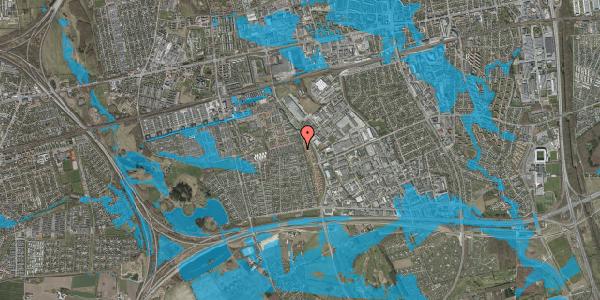 Oversvømmelsesrisiko fra vandløb på Hyrdeengen 117, 2625 Vallensbæk