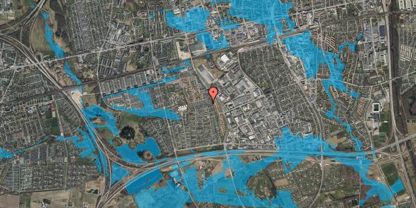 Oversvømmelsesrisiko fra vandløb på Hyrdeengen 133, 2625 Vallensbæk