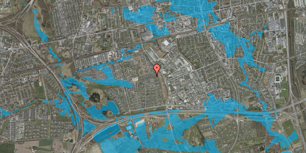 Oversvømmelsesrisiko fra vandløb på Hyrdeengen 139, 2625 Vallensbæk