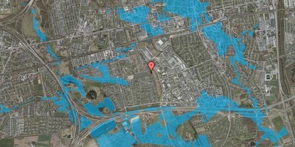 Oversvømmelsesrisiko fra vandløb på Hyrdeengen 147, 2625 Vallensbæk