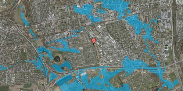 Oversvømmelsesrisiko fra vandløb på Hyrdeengen 151, 2625 Vallensbæk