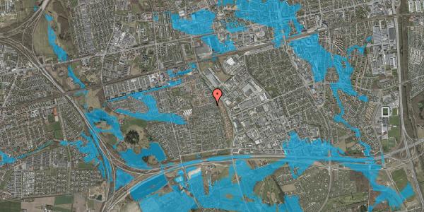 Oversvømmelsesrisiko fra vandløb på Hyrdeengen 153, 2625 Vallensbæk