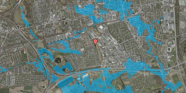 Oversvømmelsesrisiko fra vandløb på Hyrdeengen 155, 2625 Vallensbæk