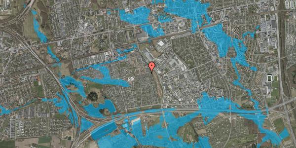 Oversvømmelsesrisiko fra vandløb på Hyrdeengen 157, 2625 Vallensbæk
