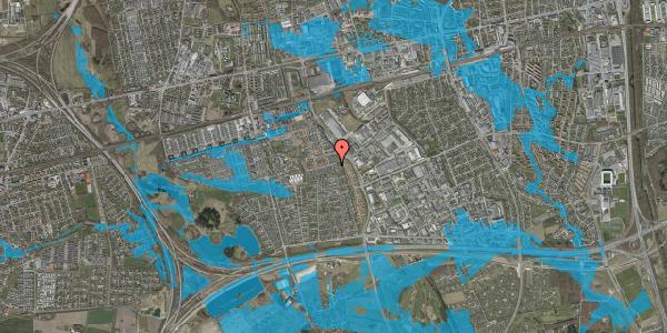 Oversvømmelsesrisiko fra vandløb på Hyrdeengen 163, 2625 Vallensbæk