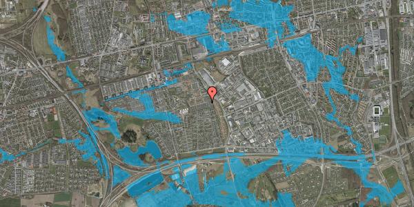 Oversvømmelsesrisiko fra vandløb på Hyrdeengen 165, 2625 Vallensbæk