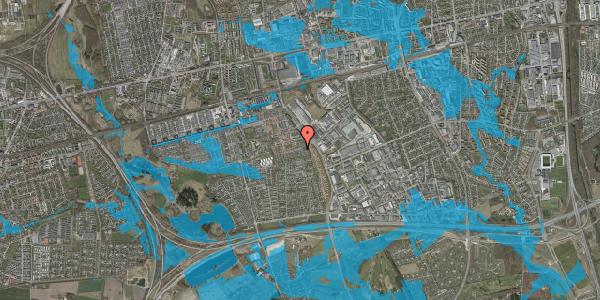 Oversvømmelsesrisiko fra vandløb på Hyrdeengen 167, 2625 Vallensbæk