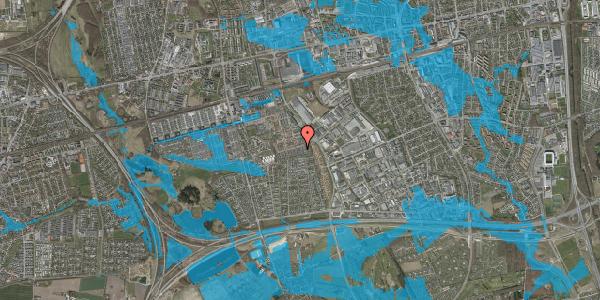 Oversvømmelsesrisiko fra vandløb på Hyrdeengen 173, 2625 Vallensbæk