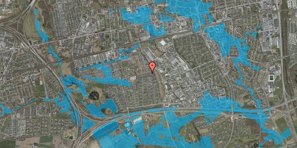 Oversvømmelsesrisiko fra vandløb på Hyrdeengen 177, 2625 Vallensbæk