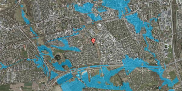 Oversvømmelsesrisiko fra vandløb på Hyrdeengen 185, 2625 Vallensbæk