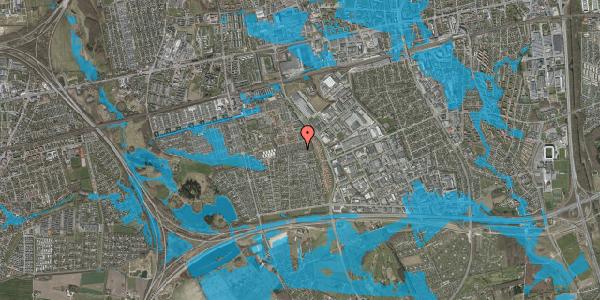 Oversvømmelsesrisiko fra vandløb på Hyrdeengen 187, 2625 Vallensbæk