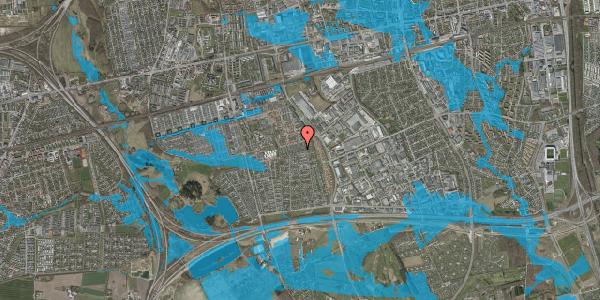 Oversvømmelsesrisiko fra vandløb på Hyrdeengen 195, 2625 Vallensbæk