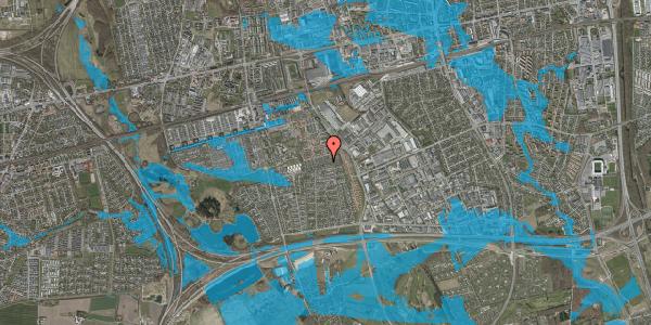 Oversvømmelsesrisiko fra vandløb på Hyrdeengen 199, 2625 Vallensbæk