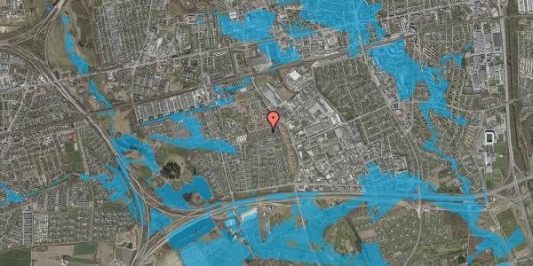 Oversvømmelsesrisiko fra vandløb på Hyrdeengen 203, 2625 Vallensbæk