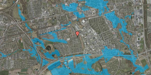 Oversvømmelsesrisiko fra vandløb på Hyrdeengen 205, 2625 Vallensbæk