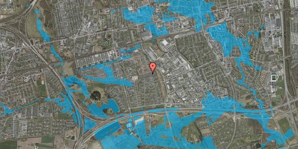 Oversvømmelsesrisiko fra vandløb på Hyrdeengen 207, 2625 Vallensbæk