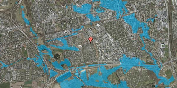 Oversvømmelsesrisiko fra vandløb på Hyrdeengen 209, 2625 Vallensbæk