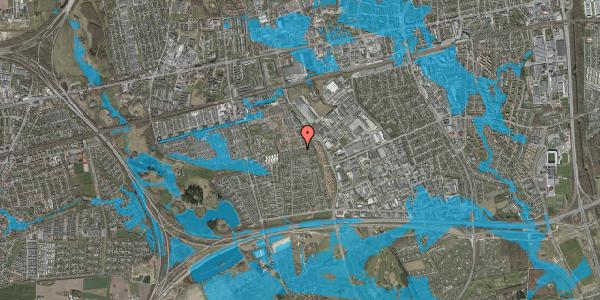 Oversvømmelsesrisiko fra vandløb på Hyrdeengen 215, 2625 Vallensbæk