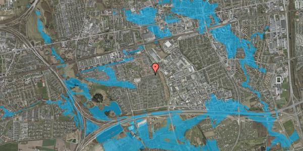 Oversvømmelsesrisiko fra vandløb på Hyrdeengen 217, 2625 Vallensbæk