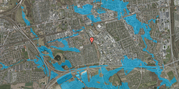 Oversvømmelsesrisiko fra vandløb på Hyrdeengen 219, 2625 Vallensbæk