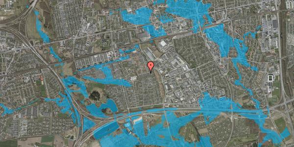 Oversvømmelsesrisiko fra vandløb på Hyrdeengen 221, 2625 Vallensbæk