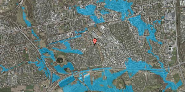 Oversvømmelsesrisiko fra vandløb på Hyrdeengen 223, 2625 Vallensbæk